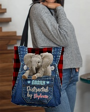 Elephant Funny All-over Tote All-over Tote aos-all-over-tote-lifestyle-front-09