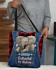 Elephant Funny All-over Tote All-over Tote aos-all-over-tote-lifestyle-front-10