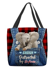 Elephant Funny All-over Tote All-over Tote back