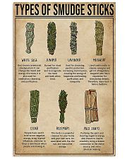 Sage Types Of Smudge Sticks 11x17 Poster thumbnail