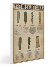 Sage Types Of Smudge Sticks 20x30 Gallery Wrapped Canvas Prints thumbnail