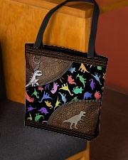 Dinosaur Animal For Dinosaur Lovers All-over Tote aos-all-over-tote-lifestyle-front-02