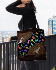 Dinosaur Animal For Dinosaur Lovers All-over Tote aos-all-over-tote-lifestyle-front-05