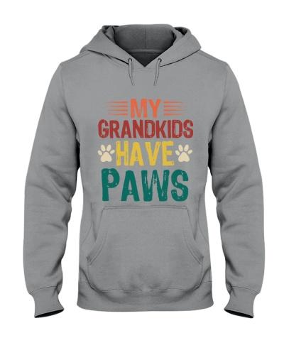 grand kids paw T-shirt