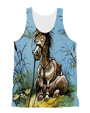 Best gift for horse lovers All-over Unisex Tank thumbnail