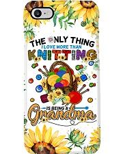 Knitting grandma Phone Case i-phone-8-case