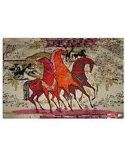 Best gift for horse lovers Horizontal Poster tile