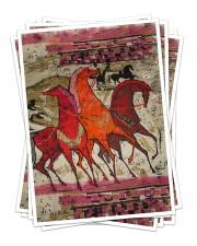Best gift for horse lovers Sticker tile