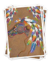 Best gift for horse lovers Sticker - 6 pack (Vertical) thumbnail