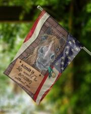 """Flag for Horse lovers 11.5""""x17.5"""" Garden Flag aos-garden-flag-11-5-x-17-5-lifestyle-front-15"""