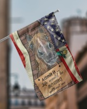 """Flag for Horse lovers 11.5""""x17.5"""" Garden Flag aos-garden-flag-11-5-x-17-5-lifestyle-front-17"""