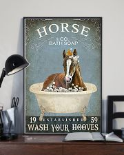 Horse and co bath soap 11x17 Poster lifestyle-poster-2