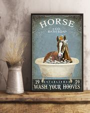 Horse and co bath soap 11x17 Poster lifestyle-poster-3