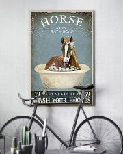 Horse and co bath soap 11x17 Poster lifestyle-poster-7