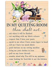 In my quiting room 11x17 Poster front