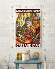 Easily distracted by cats and yarn     11x17 Poster lifestyle-holiday-poster-3