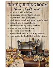 In my quilting room 11x17 Poster front