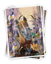 Best gift for horse lovers Sticker tile