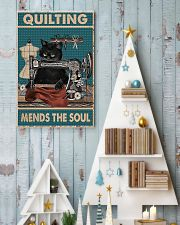 Quilting mends the soul 11x17 Poster lifestyle-holiday-poster-2