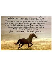 Best gift for horse lovers 17x11 Poster front