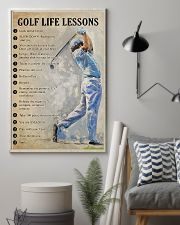 Golf life lesson 11x17 Poster lifestyle-poster-1