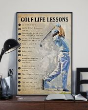 Golf life lesson 11x17 Poster lifestyle-poster-2
