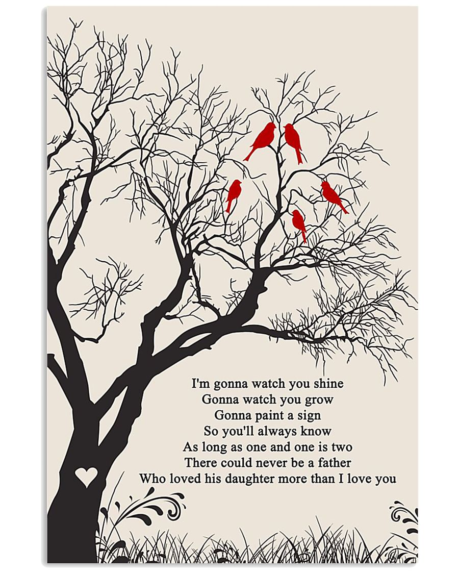 Paul Simon - Father and Daughter 2 11x17 Poster
