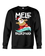 Mele Kalikimaka Hawaiian Christmas Hawa Crewneck Sweatshirt thumbnail