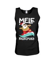 Mele Kalikimaka Hawaiian Christmas Hawa Unisex Tank thumbnail