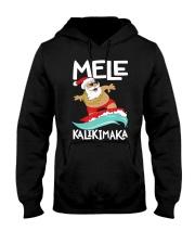Mele Kalikimaka Hawaiian Christmas Hawa Hooded Sweatshirt thumbnail