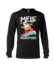 Mele Kalikimaka Hawaiian Christmas Hawa Long Sleeve Tee thumbnail