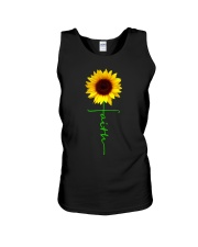 Christian Faith Cross Sunflower Christmas Gi Unisex Tank thumbnail