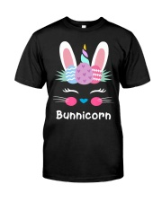 Bunnicorn Shirt Cute Bunny Rabbit Unic Classic T-Shirt thumbnail