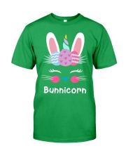 Bunnicorn Shirt Cute Bunny Rabbit Unic Classic T-Shirt front