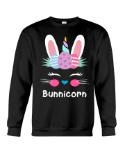 Bunnicorn Shirt Cute Bunny Rabbit Unic Crewneck Sweatshirt thumbnail