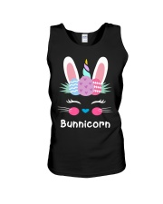 Bunnicorn Shirt Cute Bunny Rabbit Unic Unisex Tank tile
