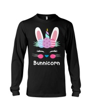 Bunnicorn Shirt Cute Bunny Rabbit Unic Long Sleeve Tee thumbnail