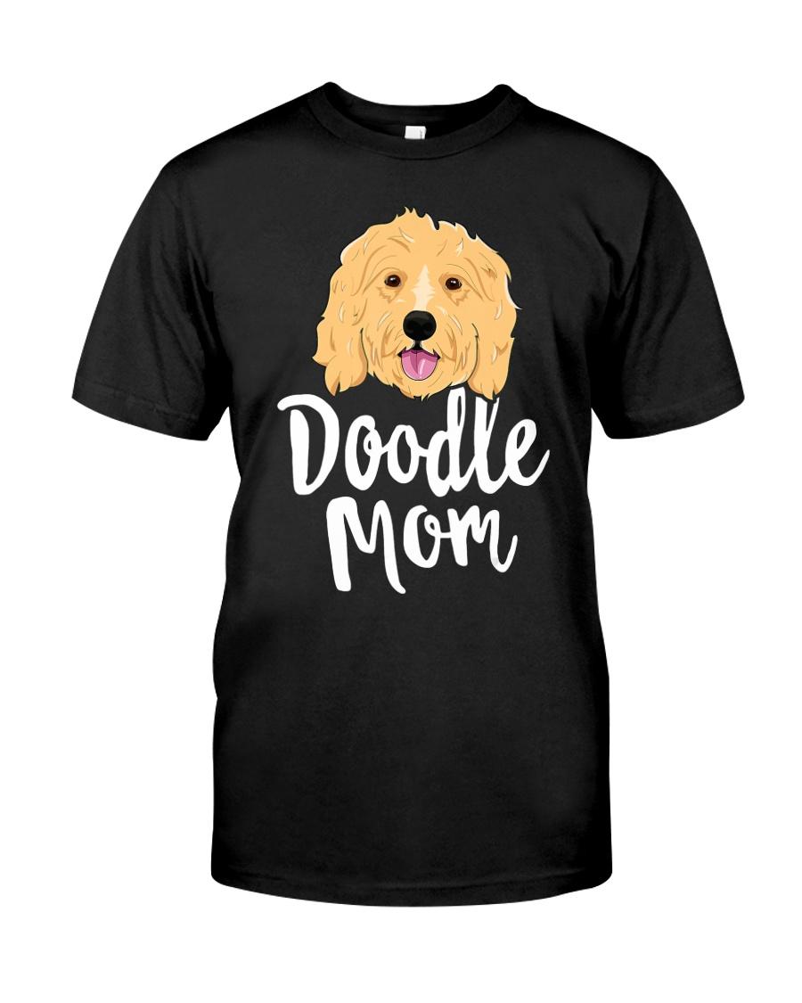 Doodle Mom T-Shirt Women Goldendoodle  Classic T-Shirt