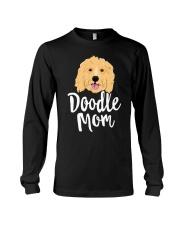 Doodle Mom T-Shirt Women Goldendoodle  Long Sleeve Tee thumbnail