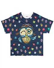OWLS All-over T-Shirt front