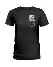 MALTESE POCKET Ladies T-Shirt thumbnail
