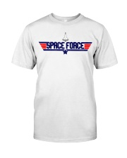 Fly High - JOIN THE SPACE FORCE Classic T-Shirt front
