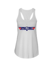 Fly High - JOIN THE SPACE FORCE Ladies Flowy Tank thumbnail