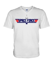 Fly High - JOIN THE SPACE FORCE V-Neck T-Shirt thumbnail