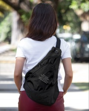 Racism is American Sling Pack garment-embroidery-slingpack-lifestyle-04