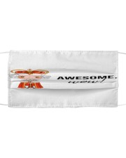 Awesome wow cloth face mask Cloth face mask front