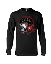 Red Red White white forever forever Long Sleeve Tee tile