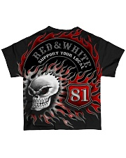 Red Red White white forever forever All-over T-Shirt back