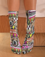 Dog Dog Lovers Crew Length Socks aos-accessory-crew-length-socks-lifestyle-front-02