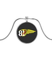 81 Metallic Circle Necklace thumbnail